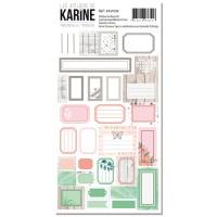 Mademoiselle Tendresse - Les étiquettes autocollants: Ateliers de Karine