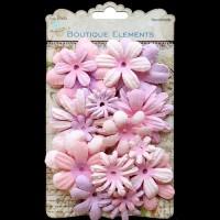 Little Birdie Flowers - Pink