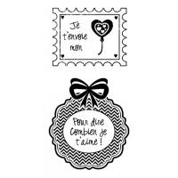 Je t'envoie - Plaisir d'aimer Stamps