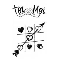 Toi & Moi - Plaisir d'aimer Tampons