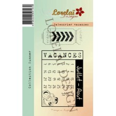 Calendrier Vacances de Lorelaï Design