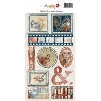 Sheet of labels - Il est temps by Lorelaï Design