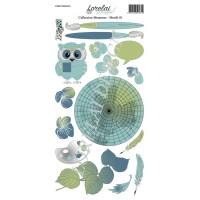 Sheet of motifs 1 - Memento collection by Lorelaï Design