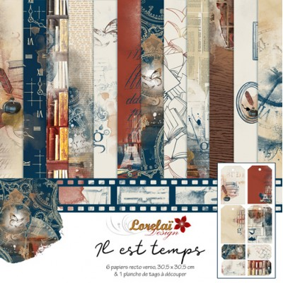 Collection 'Il est temps' de Lorelaï Design
