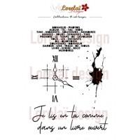 Il est temps Stencil - Lorelai design