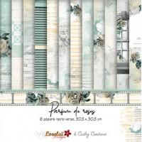 Papers 'Parfum de Roses' by Lorelaï Design & Cathy Contiero
