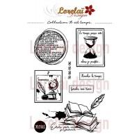 Il est temps - stamps by Lorelaï Design