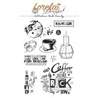 Rock Family - stamps by Lorelaï Design