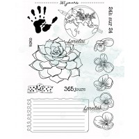 365 JOURS - stamps from the Memento collection by Lorelaï Design