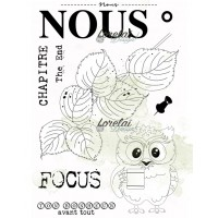 Nous - stamps from the Memento collection by Lorelaï Design