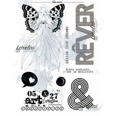 Rever - stamps from the Memento collection by Lorelaï Design