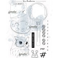 Ton histoire - stamps from the Memento collection by Lorelaï Design