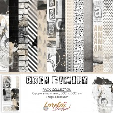 Collection 'Rock Family' by Lorelaï Design
