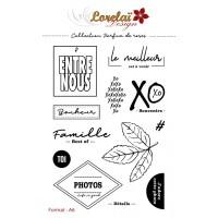 Parfum de Roses - stamps by Lorelaï Design