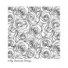 Roses All Over Background Stamp My Favorite Things