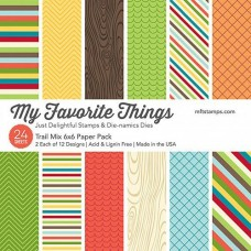 My Favourite Things 'Trail Mix' 6x6 Paper Pad