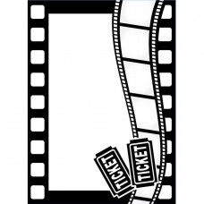 Thème De Film Classeur d'embossage