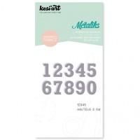 Kesi'art Métaliks Die -  Numbers 12345