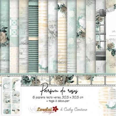 Collection 'Parfum de Roses' de Lorelaï Design & Cathy Contiero