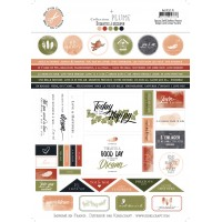 Plume embellishment sheet by Mes p'tits ciseaux
