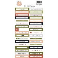 Plume Sticker Sheet by Mes p'tits ciseaux