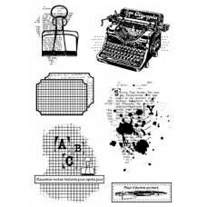 En toutes lettres - stamps by Lorelaï Design