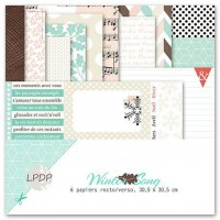 Collection Winter Song by Les papiers de Pandore