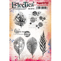 Eclectica {Courtney Franich} ECF06 PaperArtsy Stamp