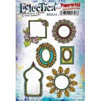 PaperArtsy Stamps Eclectica Gwen Lafleur set EGL14