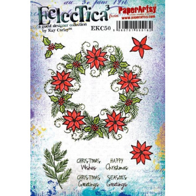 Eclectica Kay Carley EKC50 PaperArtsy Stamps