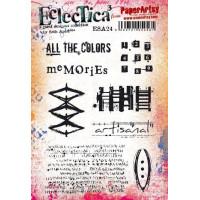 PaperArtsy Stamps Eclectica Seth Apter set ESA24 *** PRE-ORDER***