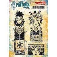 PaperArtsy Lynne Perrella Collection Stamp Set LPC053