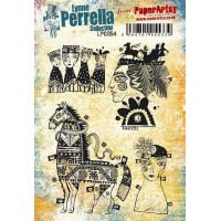 PaperArtsy Lynne Perrella Collection Stamp Set LPC054