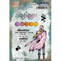 France Papillon 003 PaperArtsy Stamp Set