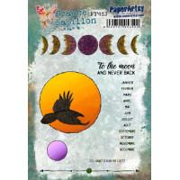 France Papillon 013 PaperArtsy Stamp Set