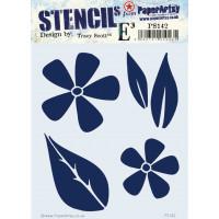 PaperArtsy stencil - ETS PS142