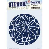 PaperArtsy stencil - ETS PS188