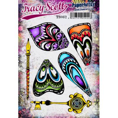 PaperArtsy Stamps Tracy Scott set TS062