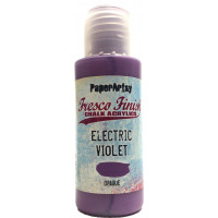 PaperArtsy Fresco Finish Paint Tracy Scott collection - Electric violet, opaque