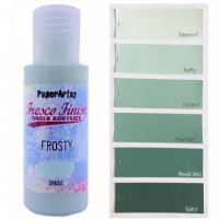 PaperArtsy Fresco Finish Paint - Frosty, opaque