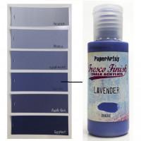 PaperArtsy Fresco Finish Paint - Lavender, opaque