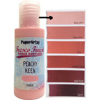 PaperArtsy Fresco Finish Paint - Peachy Keen, opaque