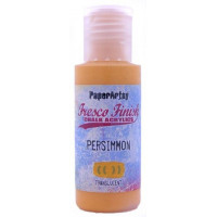 PaperArtsy Fresco Finish Paint Tracy Scott collection - Persimmon, translucent