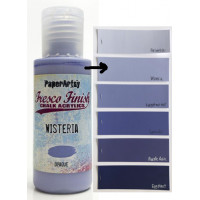 PaperArtsy Fresco Finish Paint - Wisteria, opaque