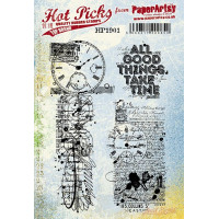 PaperArtsy stamps Hot Pick 1901 mounted on EZ foam