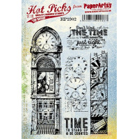 PaperArtsy stamps Hot Pick 1902 mounted on EZ foam