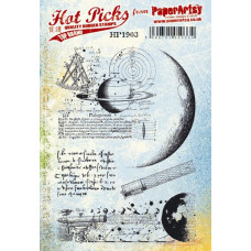 PaperArtsy stamps Hot Pick 1903 mounted on EZ foam