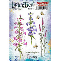 Eclectica Kay Carley EKC45 PaperArtsy Stamps