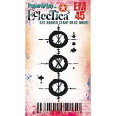 Eclectica {Seth Apter} Mini 45 PaperArtsy Stamp