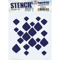 PaperArtsy stencil - JOFY PS230